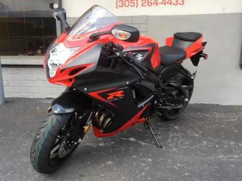 2016 Suzuki GSX-R600 in Miami, Florida