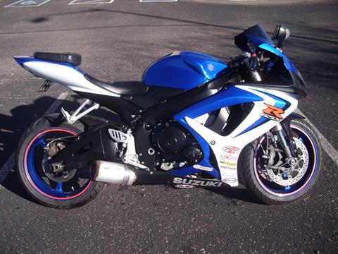 2006 Suzuki GSX-R600™ in Sierra Vista, Arizona
