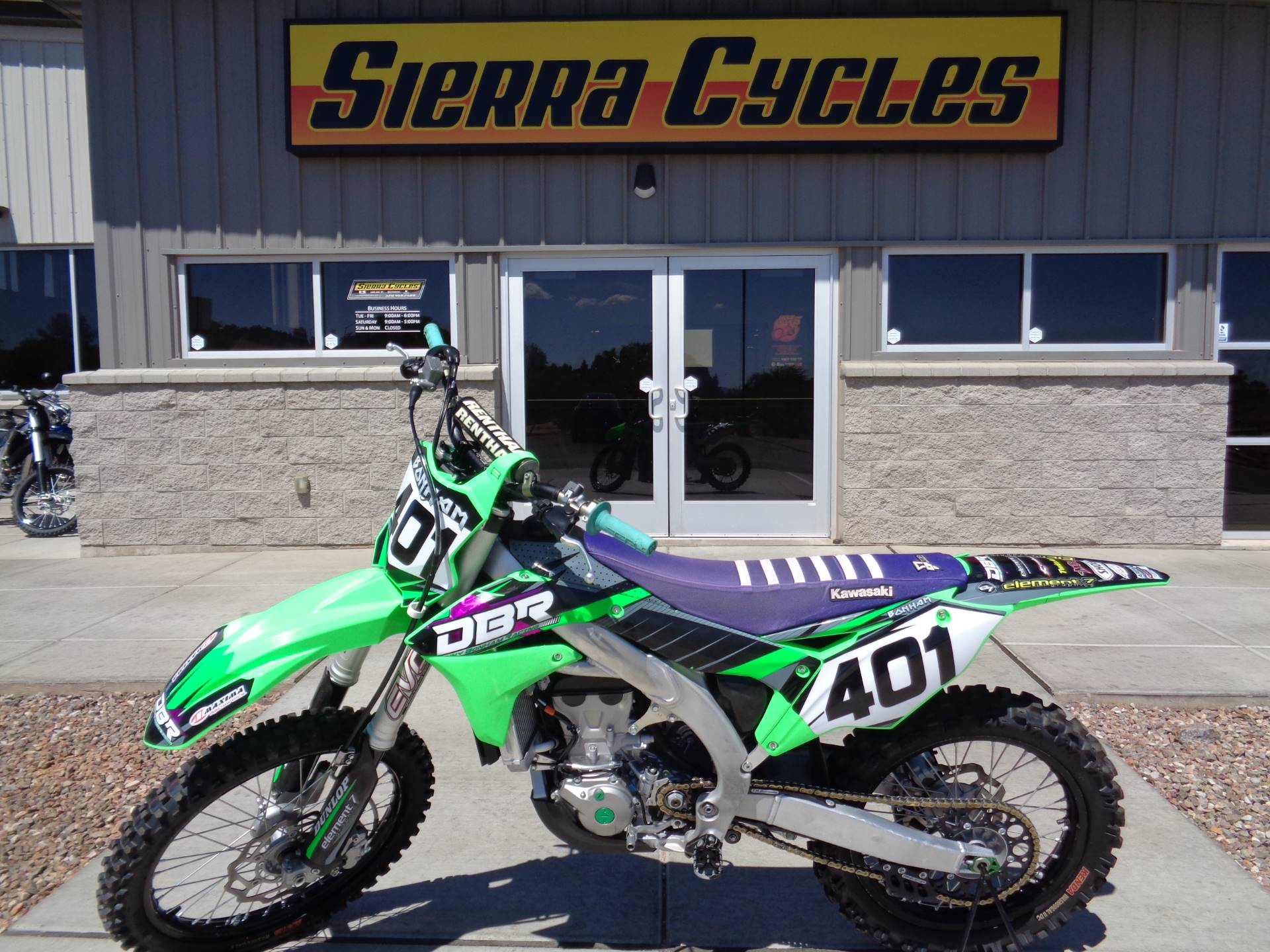 2017 Kawasaki KX450F in Sierra Vista, Arizona