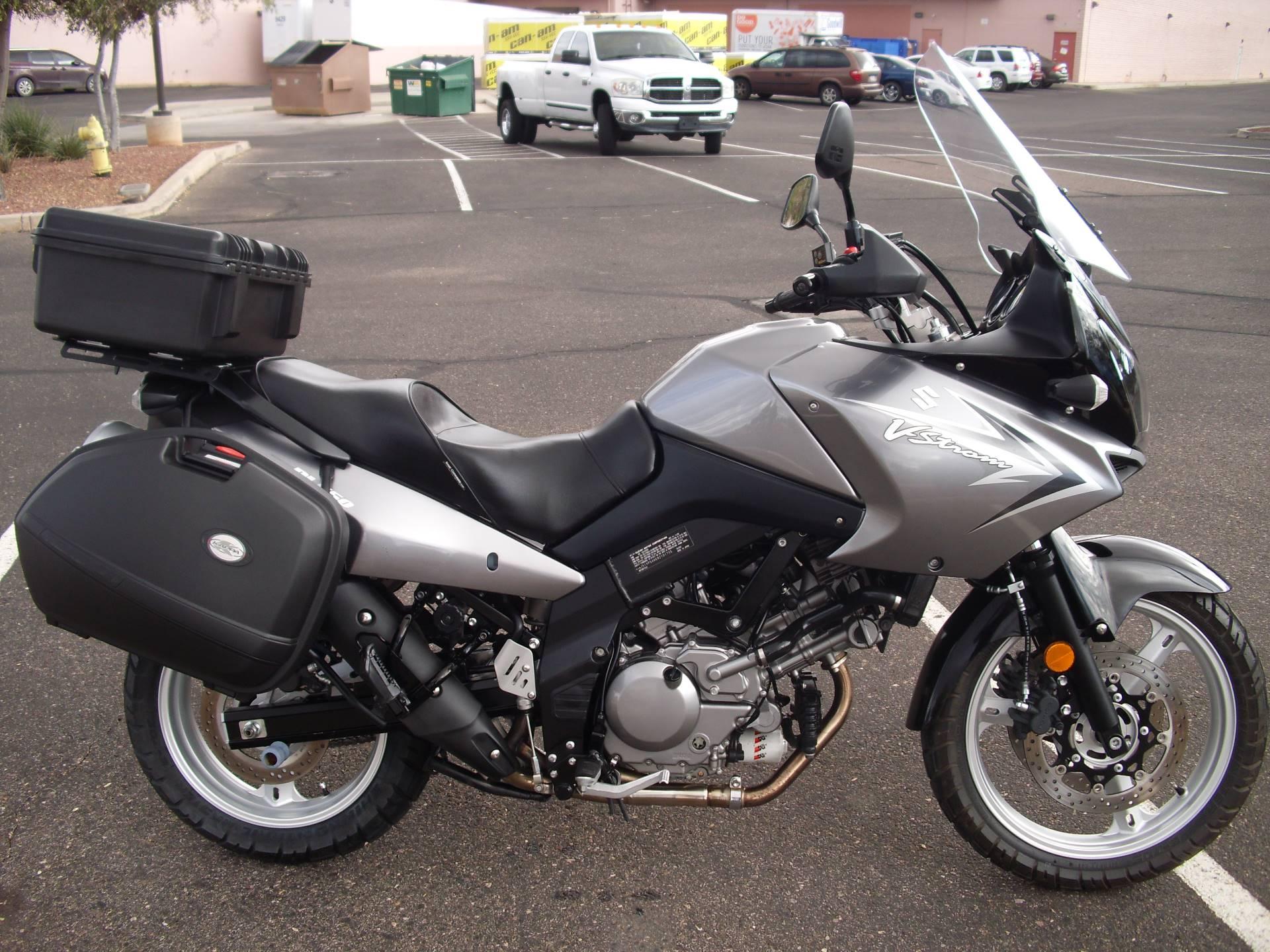 2009 Suzuki V-Strom 650 1