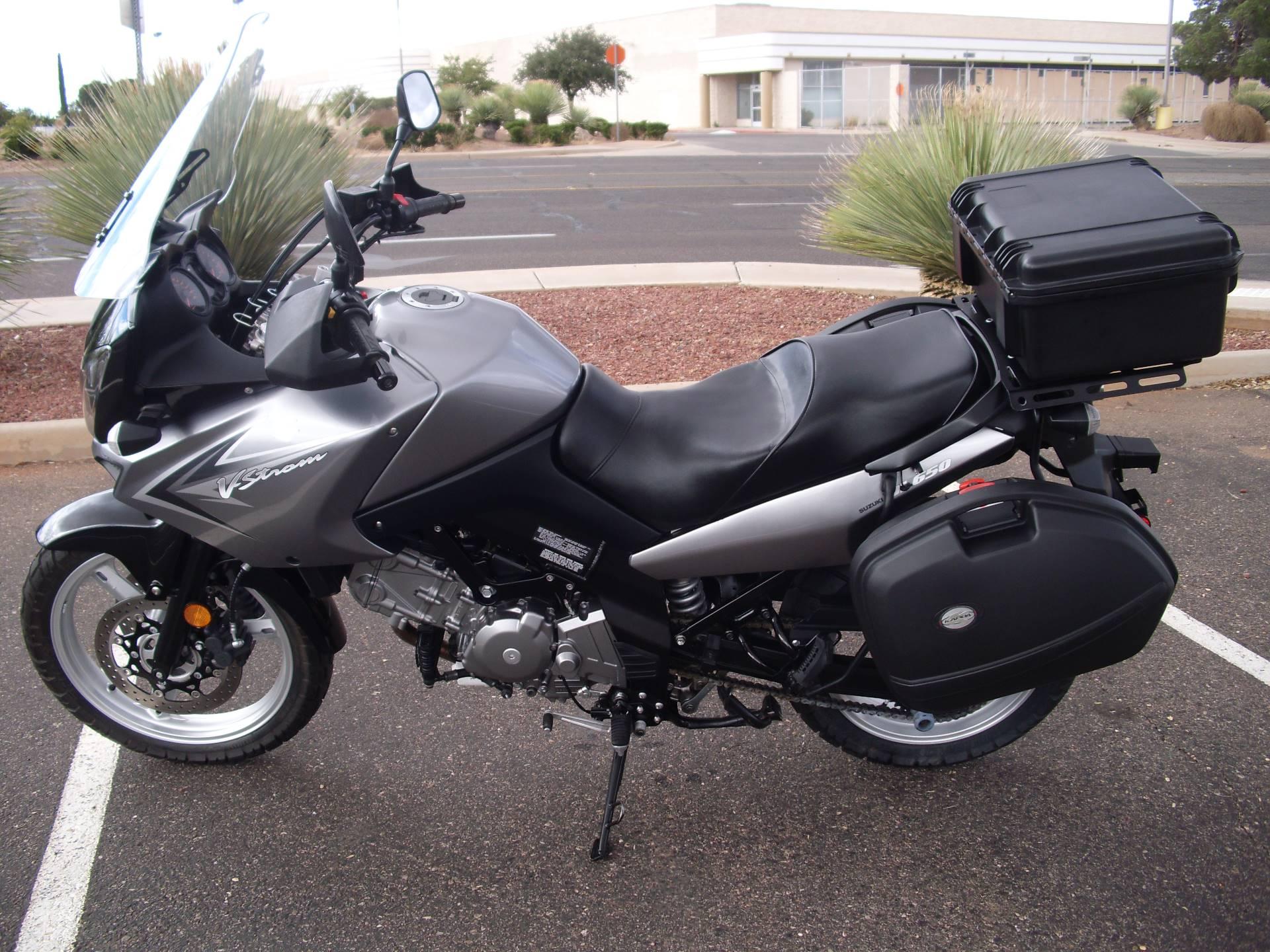 2009 Suzuki V-Strom 650 5
