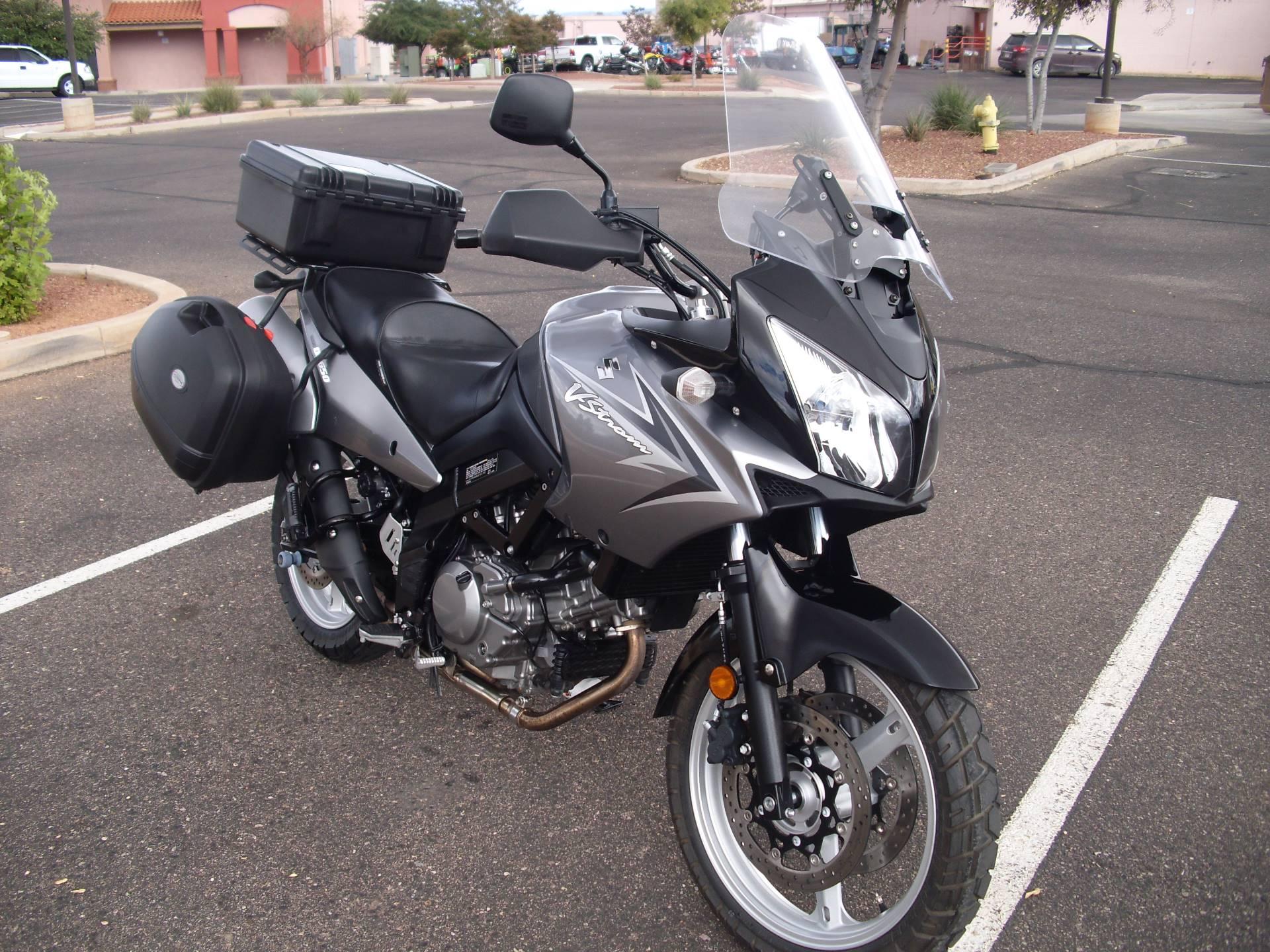 2009 Suzuki V-Strom 650 8