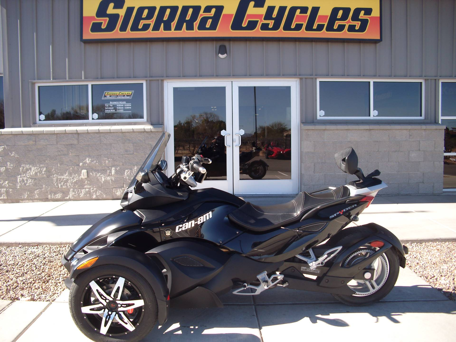 2009 Can-Am Spyder GS Phantom Black Limited Edition for sale 4398