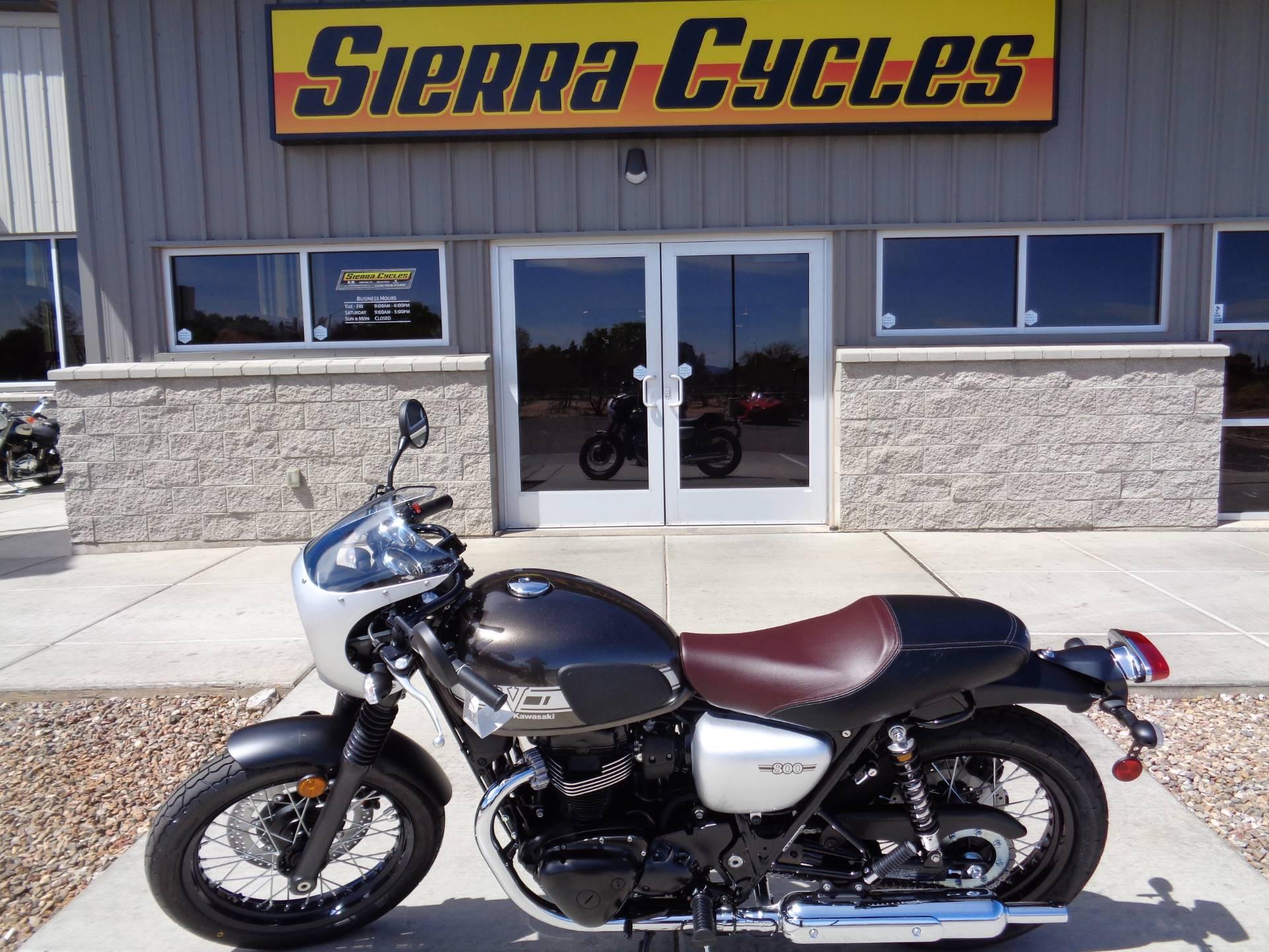 New 2019 Kawasaki W800 Cafe Motorcycles In Sierra Vista Az Stock