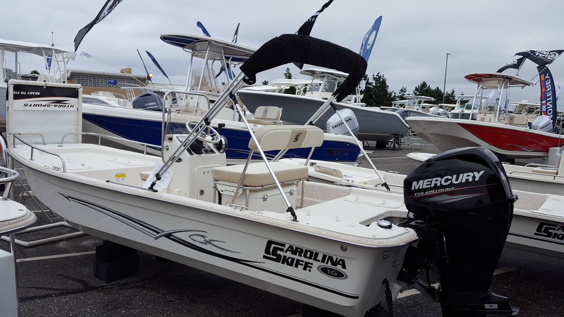 2018 Carolina Skiff 1655 DLX CC in Oceanside, New York - Photo 1