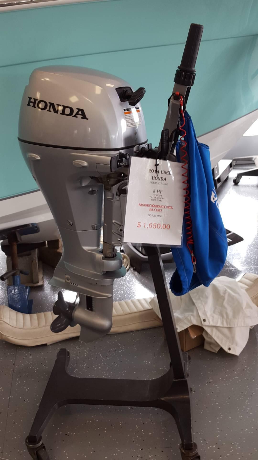 Used 2016 Honda Marine Bf8dk3sh Boat Engines In Oceanside Ny