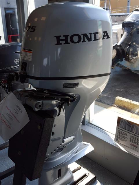 2016 Honda Marine BF75D3LRT in Oceanside, New York