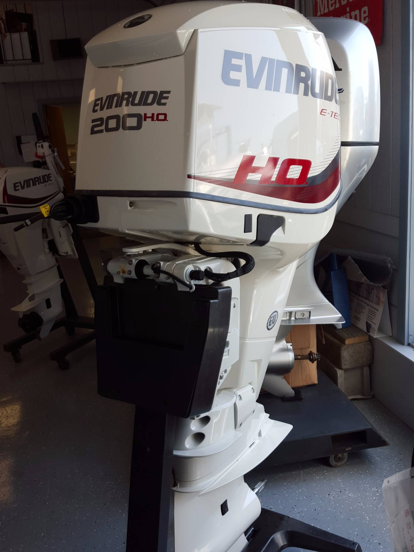 2017 Evinrude E200DHXAB in Oceanside, New York