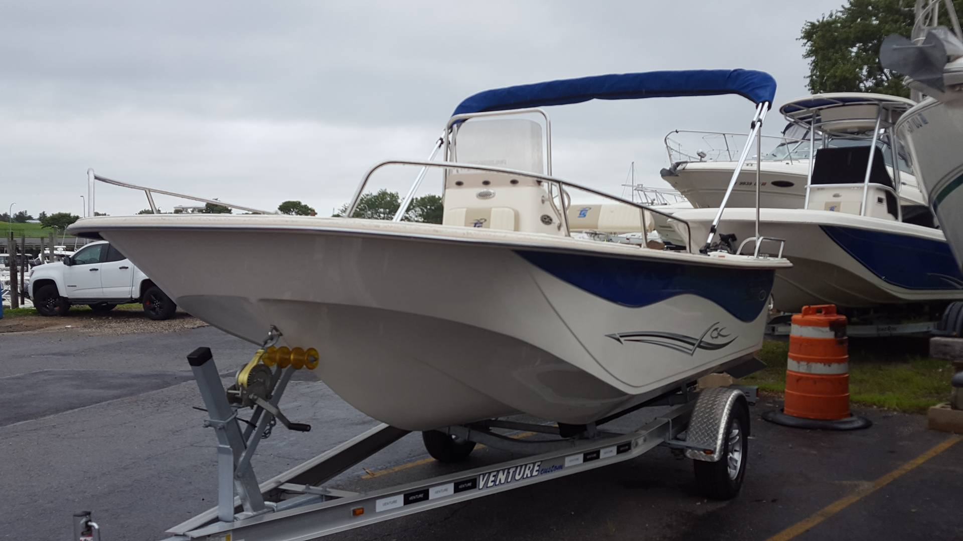 2018 Carolina Skiff 178 DLV CC in Oceanside, New York