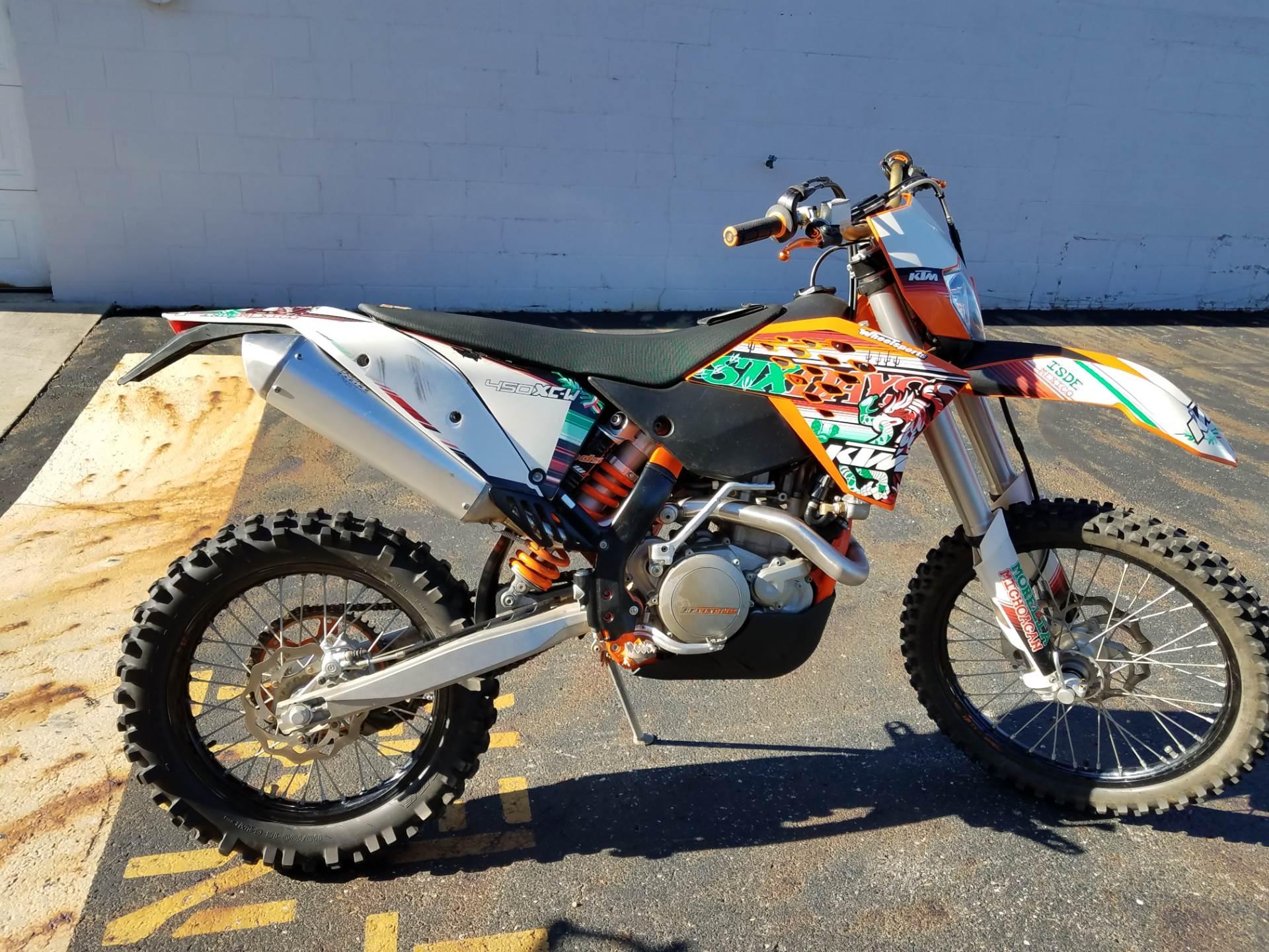 2011 450 XC-W Six Days