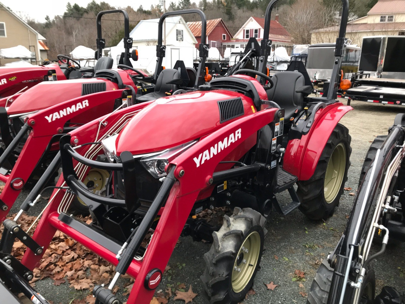 2018 Yanmar YT235 Tractor/Loader in Saint Johnsbury, Vermont