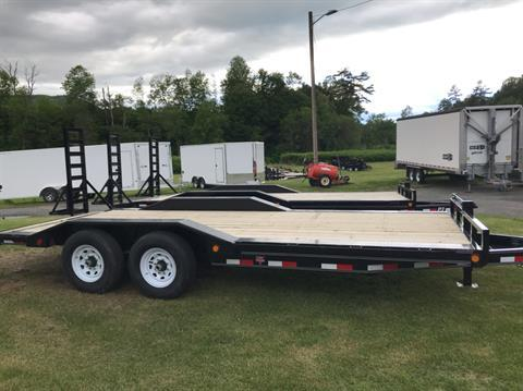"2020 PJ Trailers PJ 20'X6"" 14K Super-Wide Equip Trailer in Saint Johnsbury, Vermont - Photo 3"