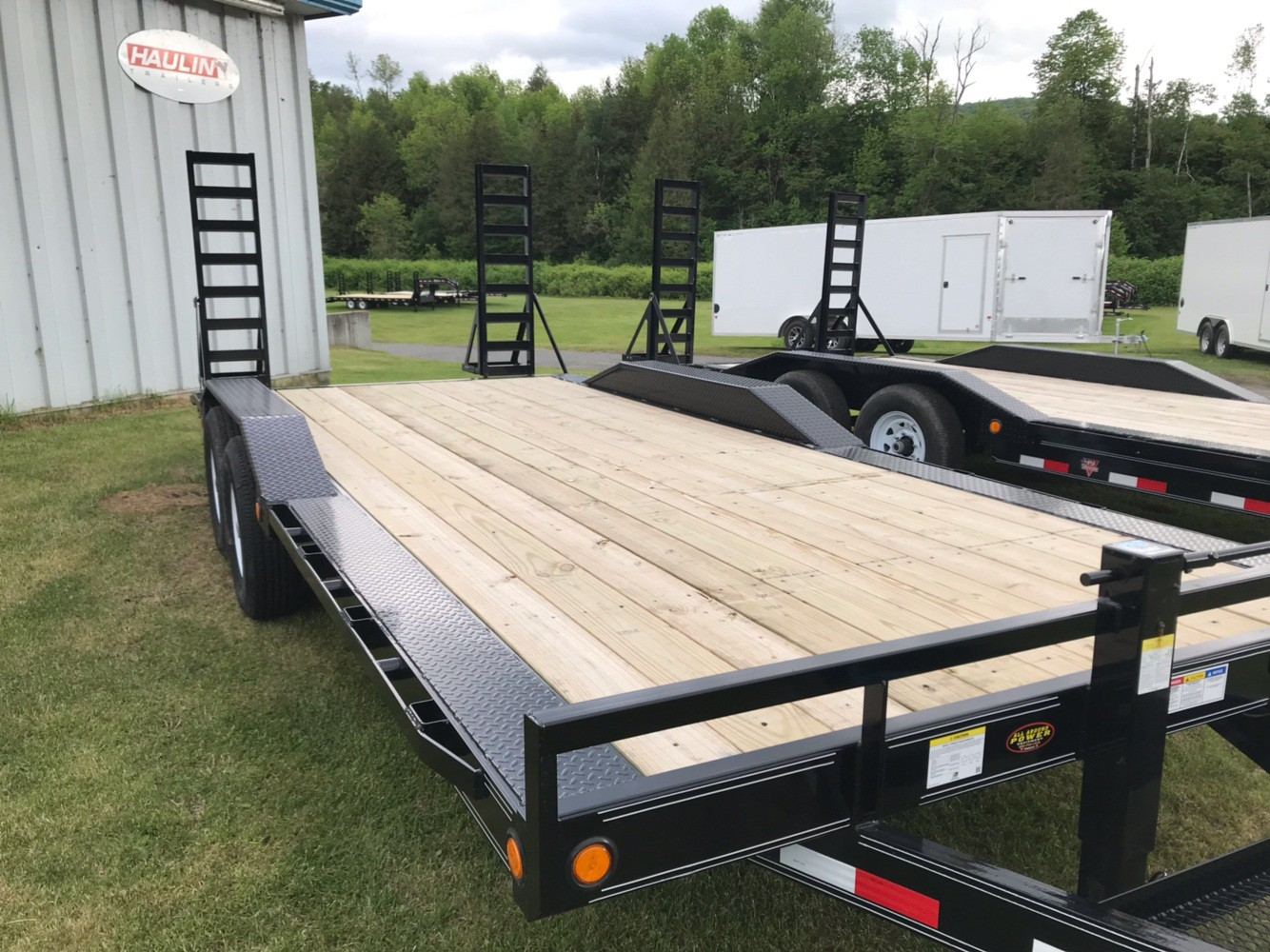 "2020 PJ Trailers PJ 20'X6"" 14K Super-Wide Equip Trailer in Saint Johnsbury, Vermont - Photo 4"