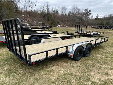 "2020 PJ Trailers PJ 22'X83"" Tandum Axle Channel Utility in Saint Johnsbury, Vermont - Photo 3"