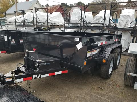 "2019 PJ Trailers PJ 10'x78"" 10K Dump Trailer in Saint Johnsbury, Vermont - Photo 1"