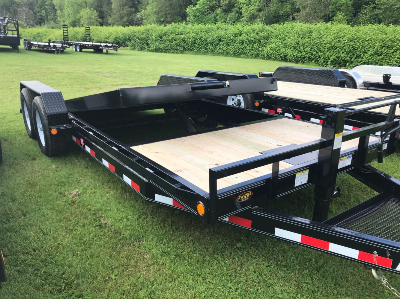 "2020 PJ Trailers PJ 20'X6"" 14K Tilt Deck Equip Trailer in Saint Johnsbury, Vermont - Photo 5"