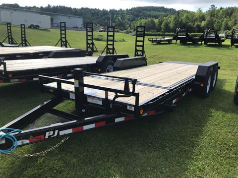 "2020 PJ Trailers PJ 20'X6"" 14K Tilt Deck Equip Trailer in Saint Johnsbury, Vermont - Photo 2"