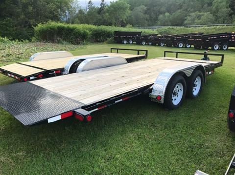 "2020 PJ Trailers PJ 18'X5"" 7K Carhauler Tilt in Saint Johnsbury, Vermont - Photo 5"