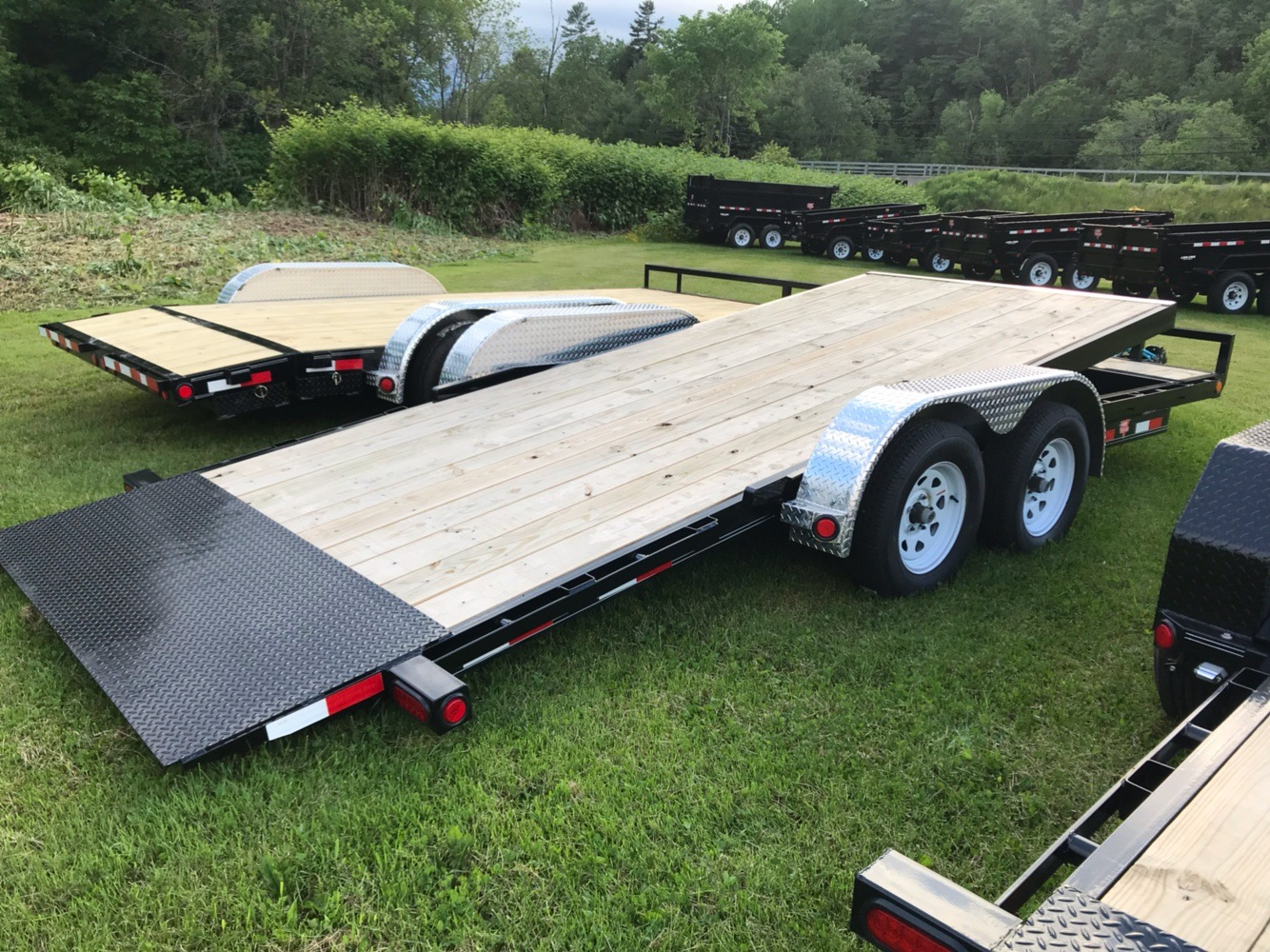 "2020 PJ Trailers PJ 18'X5"" 7K Carhauler Tilt in Saint Johnsbury, Vermont - Photo 2"