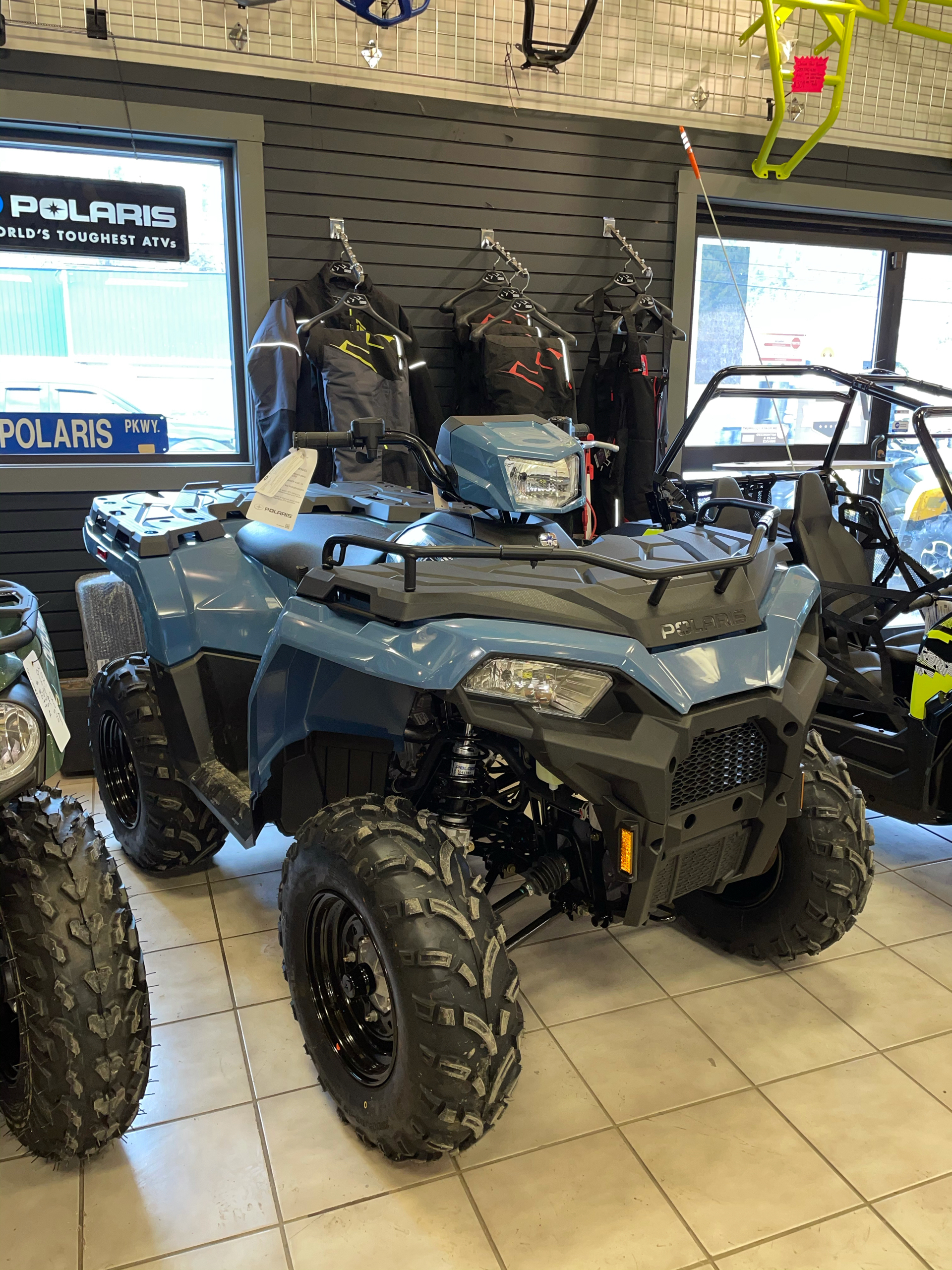 2021 Polaris Sportsman 450 H.O. in Saint Johnsbury, Vermont - Photo 1