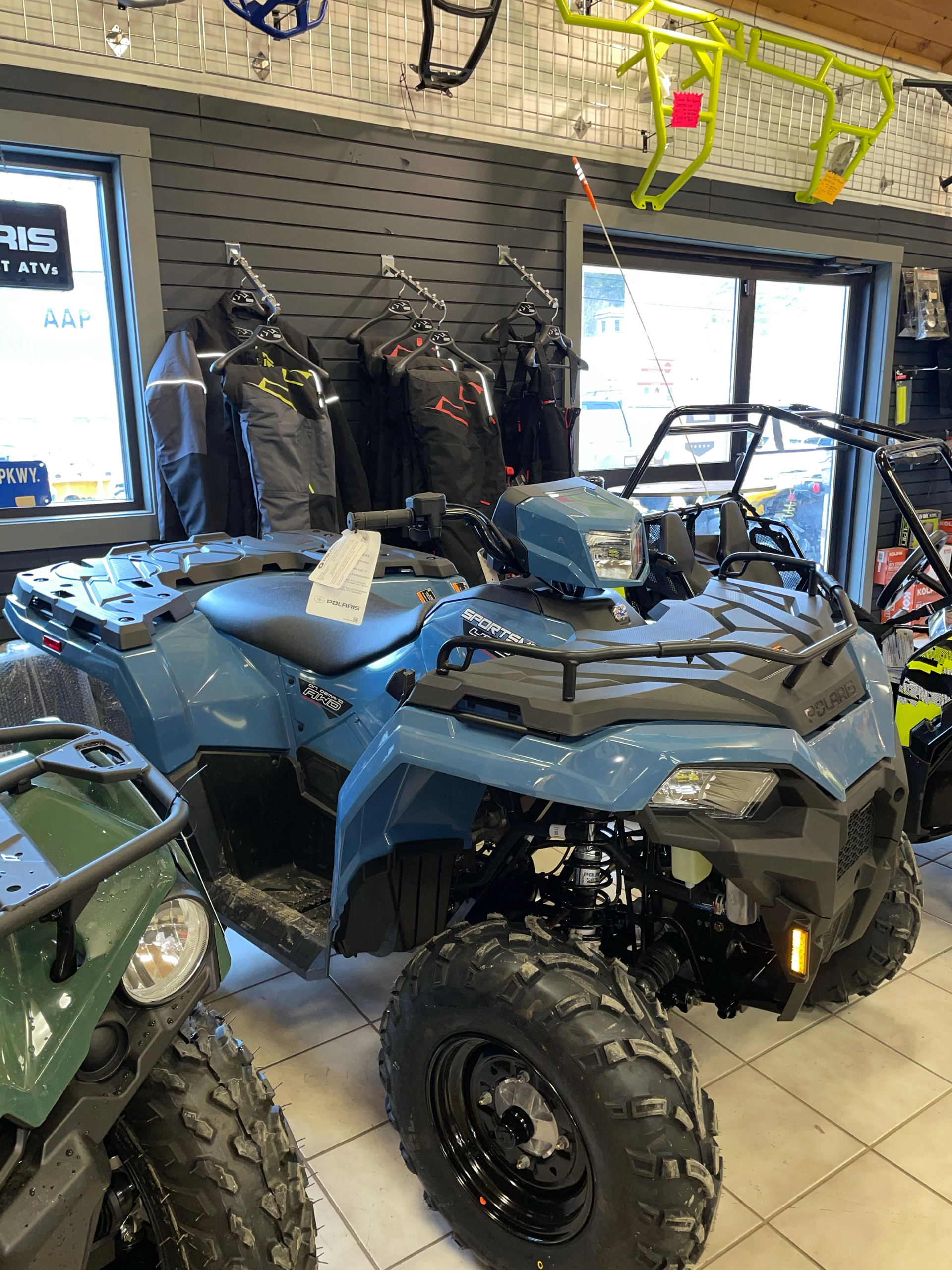 2021 Polaris Sportsman 450 H.O. in Saint Johnsbury, Vermont - Photo 2