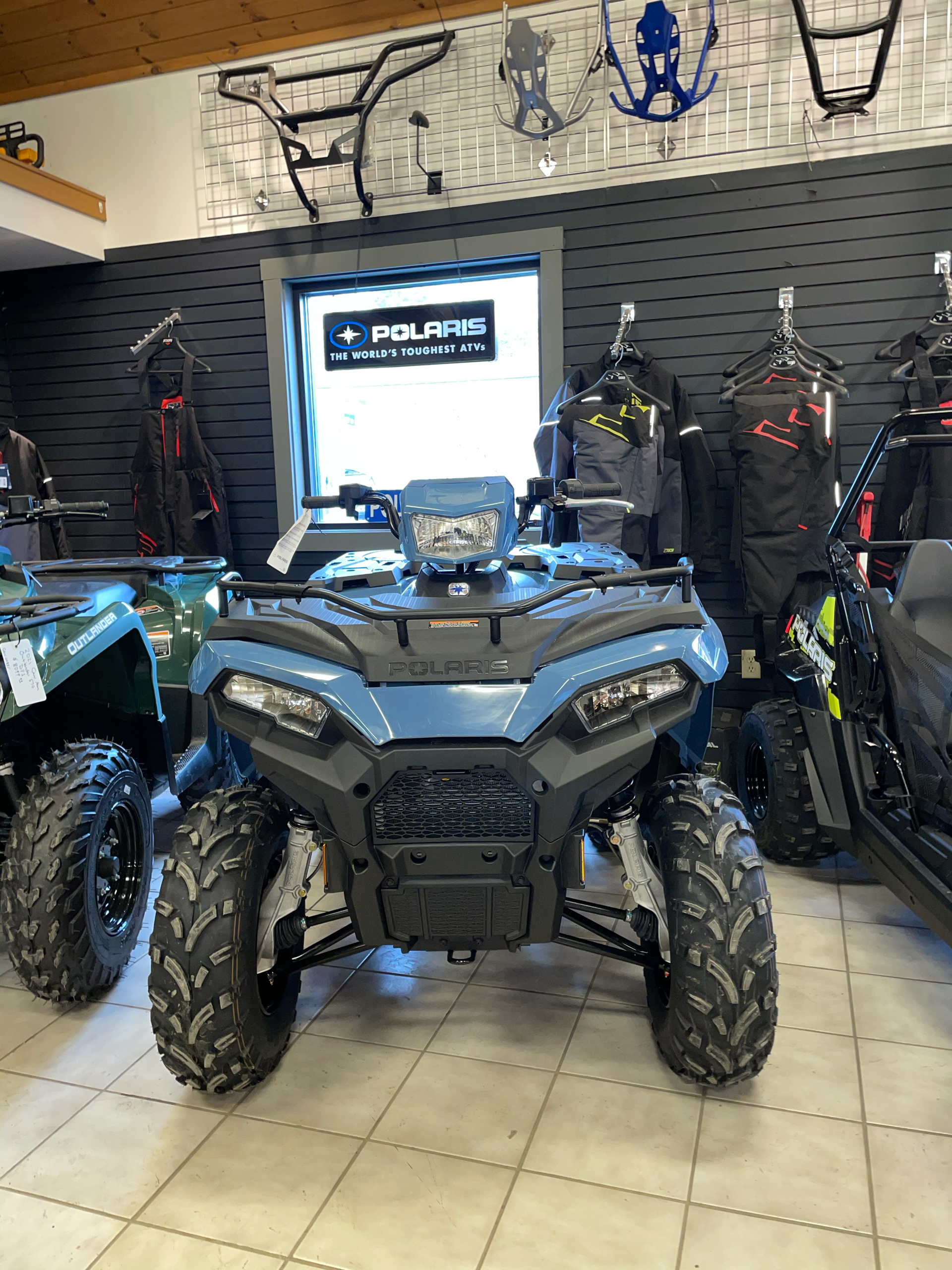 2021 Polaris Sportsman 450 H.O. in Saint Johnsbury, Vermont - Photo 3