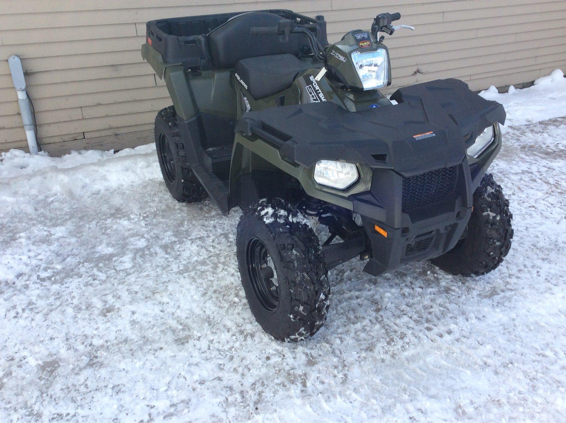2017 Polaris Sportsman X2 570 EPS in Saint Johnsbury, Vermont