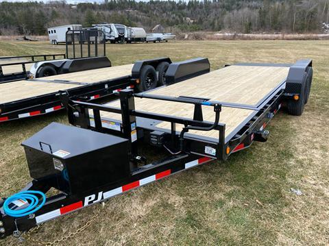 "2020 PJ Trailers PJ 20'X6"" Channel Equipment Tilt 14K in Saint Johnsbury, Vermont - Photo 3"
