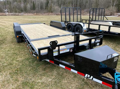 "2020 PJ Trailers PJ 20'X6"" Channel Equipment Tilt 14K in Saint Johnsbury, Vermont - Photo 1"