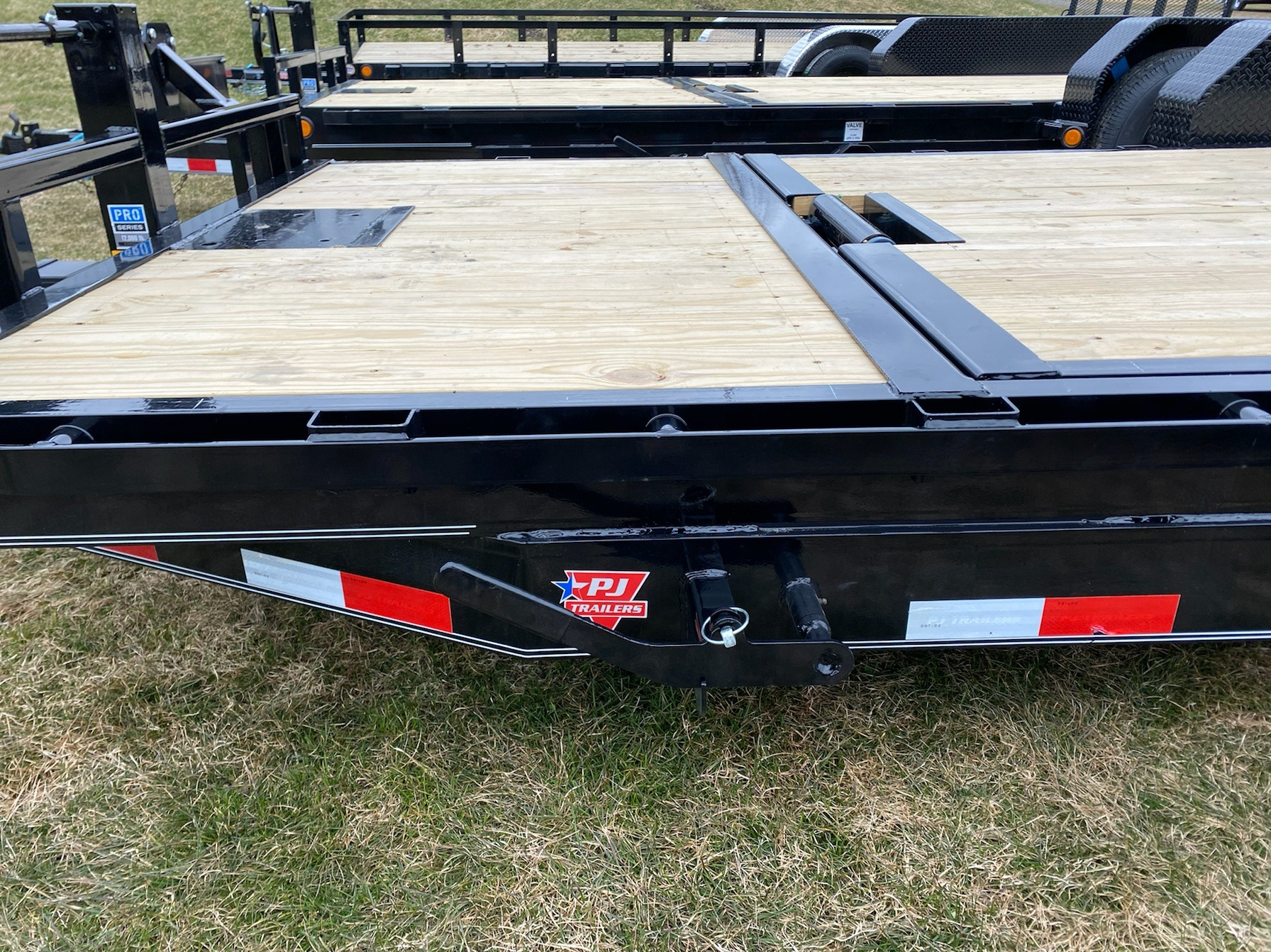 "2020 PJ Trailers PJ 20'X6"" Channel Equipment Tilt 14K in Saint Johnsbury, Vermont - Photo 8"