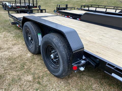 "2020 PJ Trailers PJ 20'X6"" Channel Equipment Tilt 14K in Saint Johnsbury, Vermont - Photo 5"