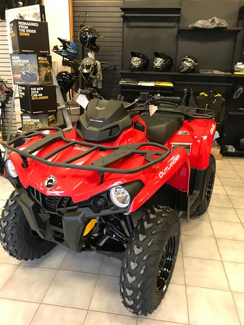 2019 Can-Am Outlander 450 in Saint Johnsbury, Vermont