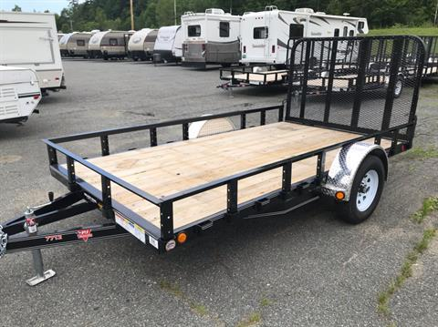 "2019 PJ Trailers PJ 12'X77"" Utility Trailer in Saint Johnsbury, Vermont - Photo 2"