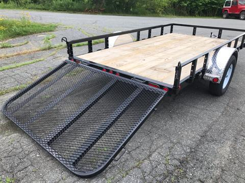 "2019 PJ Trailers PJ 12'X77"" Utility Trailer in Saint Johnsbury, Vermont - Photo 3"