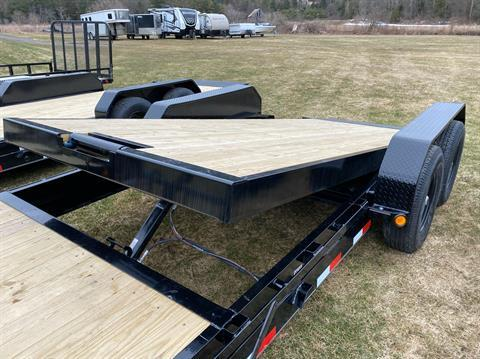 "2020 PJ Trailers 18'X6"" Channel Equipment Tilt in Saint Johnsbury, Vermont - Photo 2"