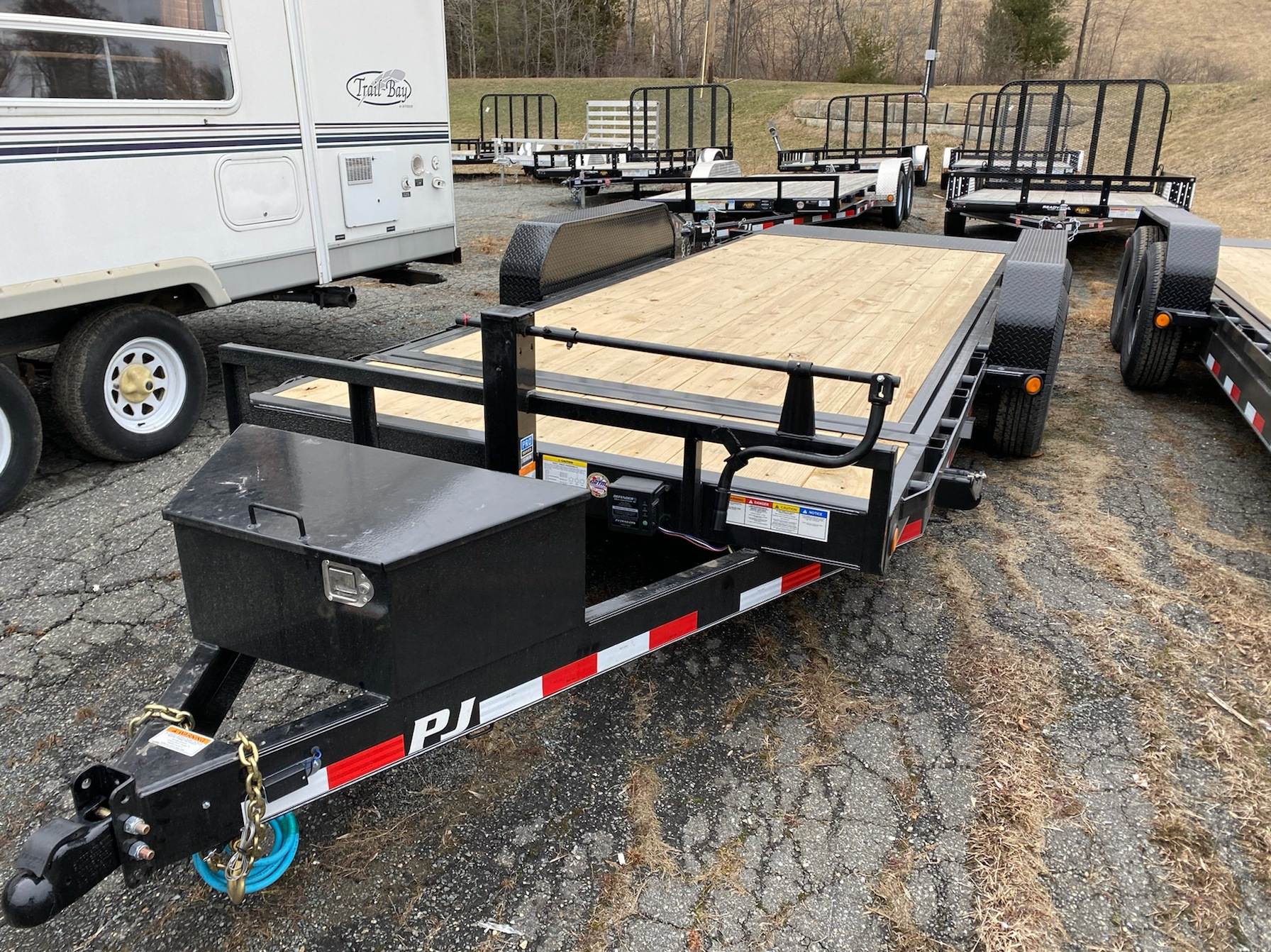 "2020 PJ Trailers 18'X6"" Channel Equipment Tilt in Saint Johnsbury, Vermont - Photo 3"