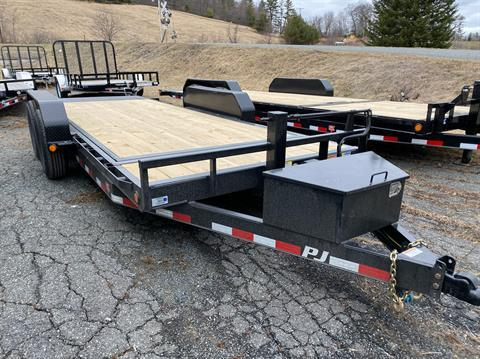 "2020 PJ Trailers 18'X6"" Channel Equipment Tilt in Saint Johnsbury, Vermont - Photo 4"