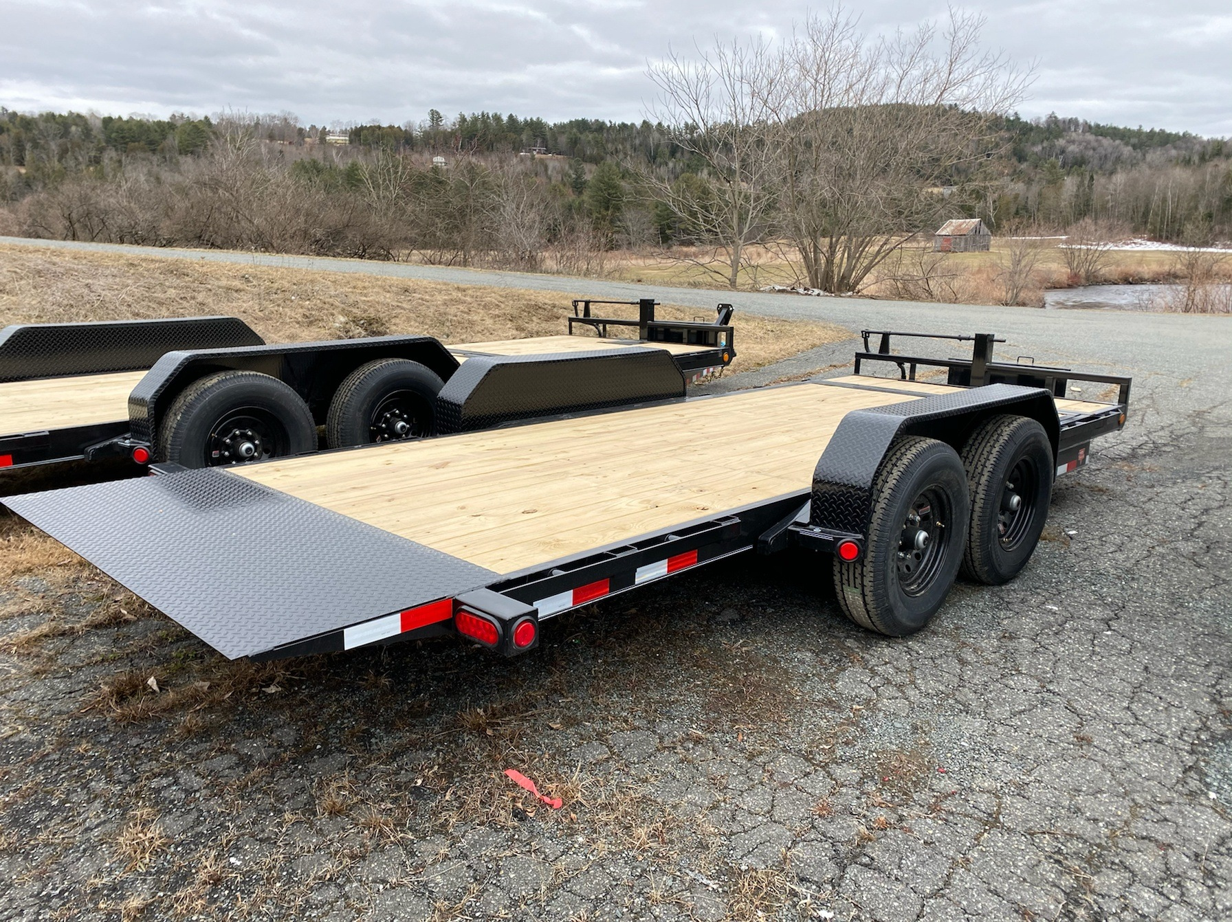 "2020 PJ Trailers 18'X6"" Channel Equipment Tilt in Saint Johnsbury, Vermont - Photo 1"