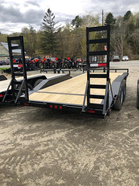 "2020 PJ Trailers PJ 18'X6"" 14K Super Wide Equip Trailer in Saint Johnsbury, Vermont - Photo 3"