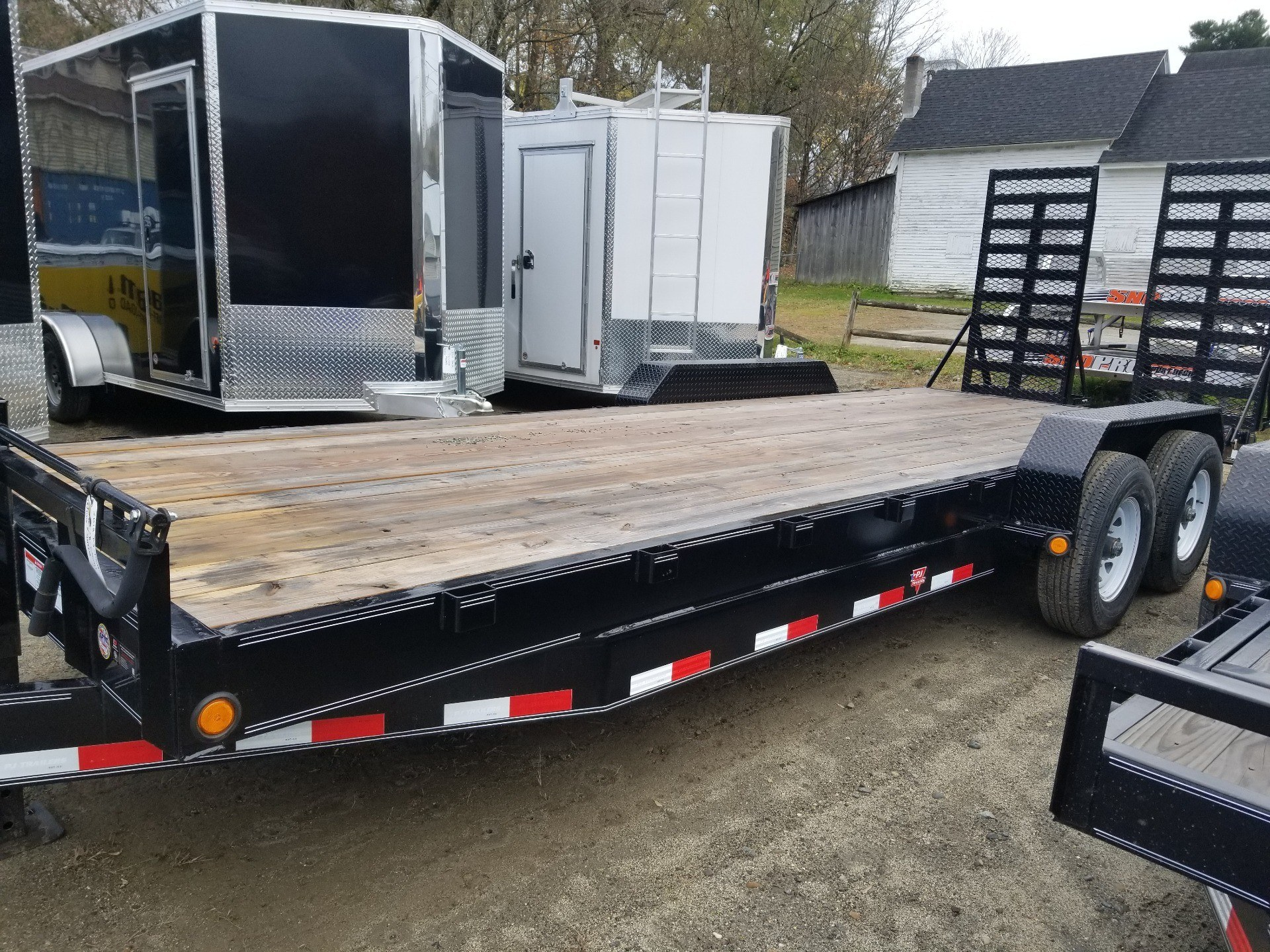 "2018 PJ Trailers PJ 22'x 8"" Channel 16K HD Equip Trlr in Saint Johnsbury, Vermont - Photo 2"
