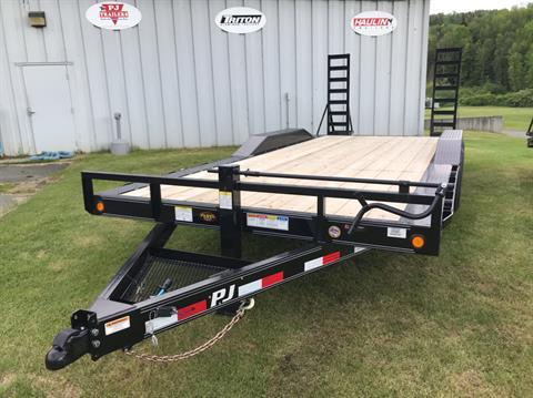 "2020 PJ Trailers PJ 20'X6"" 14K Super-Wide Equip Trailer in Saint Johnsbury, Vermont - Photo 1"