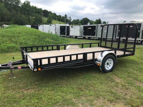 "2019 PJ Trailers PJ 14'X83"" Utility Trailer in Saint Johnsbury, Vermont - Photo 2"