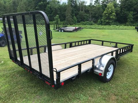 "2019 PJ Trailers PJ 14'X83"" Utility Trailer in Saint Johnsbury, Vermont - Photo 3"