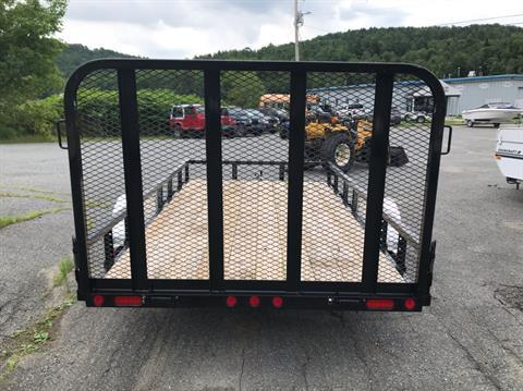 "2019 PJ Trailers PJ 12'X77"" Utility Trailer in Saint Johnsbury, Vermont - Photo 4"