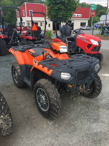 2012 Polaris Sportsman® 550 EPS LE in Saint Johnsbury, Vermont