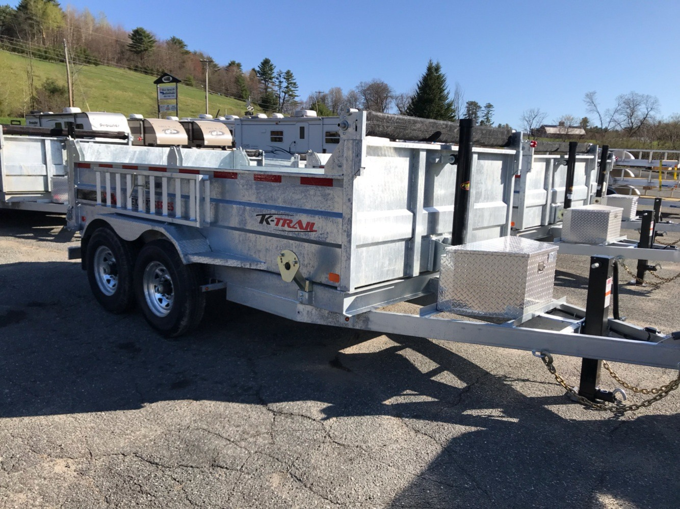 "2020 K Trail K-Trail 80""x12' 14K Galv Dump in Saint Johnsbury, Vermont - Photo 4"