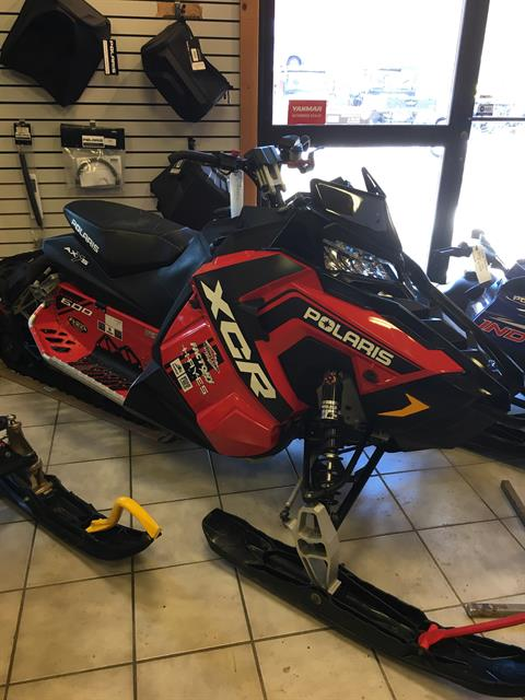 2017 Polaris 600 RUSH XCR in Saint Johnsbury, Vermont