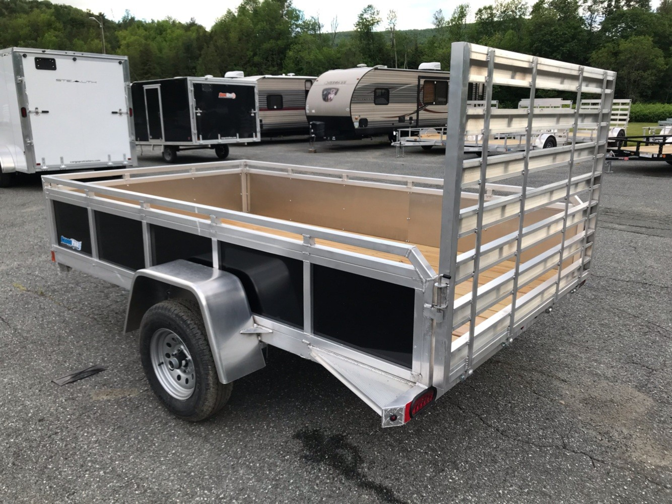 2019 ALCOM Alcom 6X12 Utility Trailer in Saint Johnsbury, Vermont - Photo 2