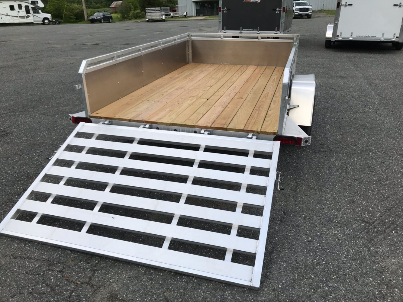 2019 ALCOM Alcom 6X12 Utility Trailer in Saint Johnsbury, Vermont - Photo 4