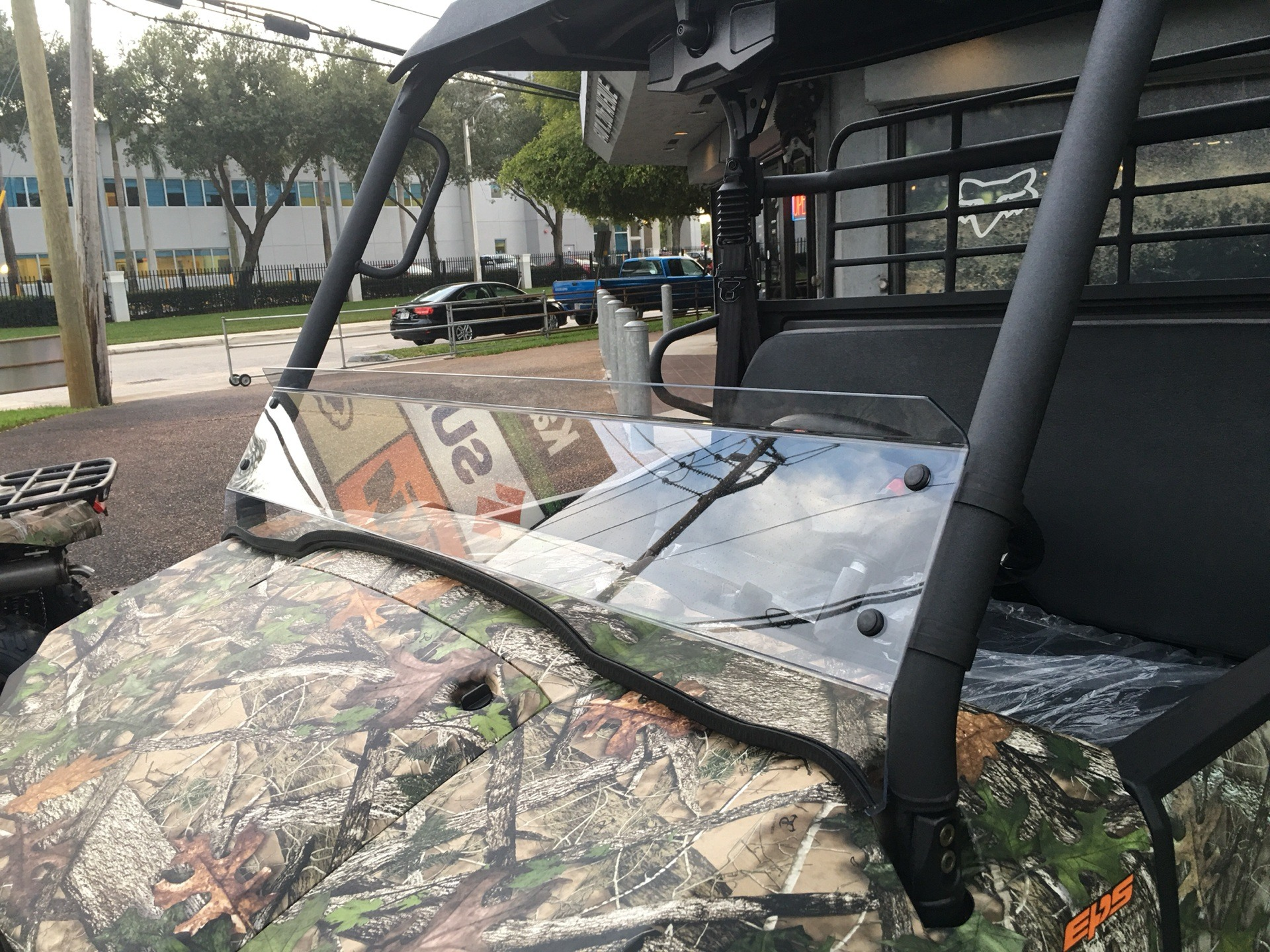2019 Kawasaki Mule PRO-MX EPS Camo in Hialeah, Florida - Photo 8